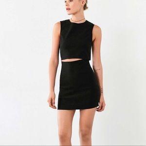 Urban Outfitters Lucca slash-waist mini dress